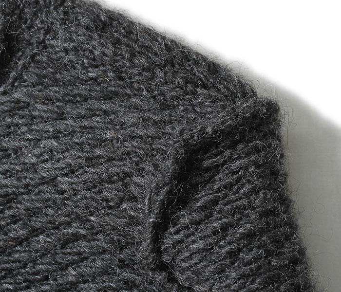 [送料無料]フランクリーダー/FRANK LEDER ドイツ製 ハンドニットウール 裏使い ニット セーター ORGANIC SHEEP WOOL HAND KNIT (0028083-KNIT)