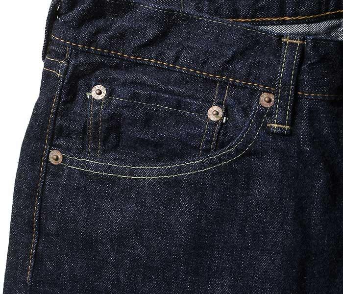 orSlow オアスロウ 日本製 one wash デニム アイビーフィット 5ポケット ジーンズ ミミ付き セルビッジ (01-0107-81)