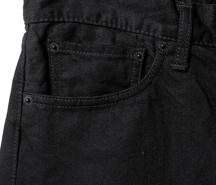[送料無料]オアスロウ(オアスロー)/orSlow 日本製 ブラック/ブラックデニム アイビーフィット ジーンズ デニム (01-0107-D61)