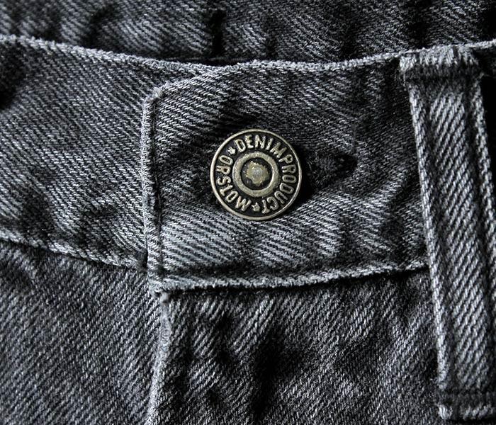 [送料無料]オアスロウ(オアスロー)/orSlow 日本製 ストーンウォッシュ ブラック/ブラックデニム アイビーフィット ジーンズ デニム (01-0107-D61STONE)