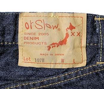 [送料無料]オアスロウ(オアスロー)/orSlow 日本製 ''NEW''アイビーフィットジーンズ デニム(01-0107W-81)