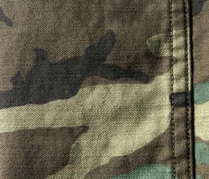 オアスロウ orSlow 日本製 ウッドランドカモ バックサテン U.S.ARMY ファティーグパンツ ベイカーパンツ 5002 レギュラーフィット US ARMY FATIGUE PANTS 迷彩 (01-5002-76)