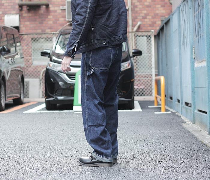 [送料無料]オアスロウ(オアスロー)/orSlow 日本製 ワンウォッシュ デニム ペインターパンツ (01-5120-81)