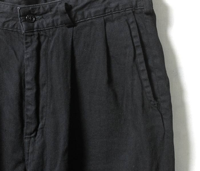 [送料無料]オアスロウ(オアスロー)/orSlow 日本製 ''ブラックデニム'' ビリージーンパンツ BILLY JEAN (01-5560-D61)