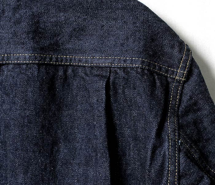 [送料無料]オアスロウ(オアスロー)/orSlow 日本製 ''ONE WASH DENIM'' 2nd type 50's デニムジャケット セカンドタイプ ジージャン (01-6002-81)