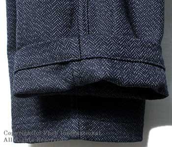 [送料無料]オアスロウ(オアスロー)/orSlow 日本製 ''スリムフィット''インディゴヘリンボーンファティーグパンツ・ベイカーパンツ(01-5032-H80)