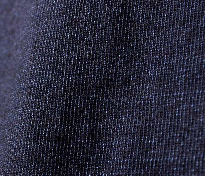 [送料無料]オアスロウ(オアスロー)/orSlow 日本製 ''インディゴ'' ボートネックカットソー ロンT (03-0011-01)