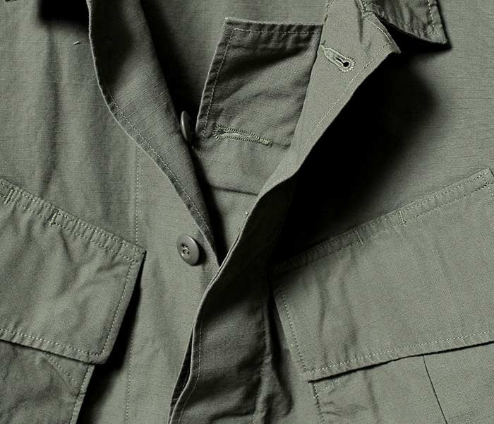 [送料無料]オアスロウ(オアスロー)/orSlow 日本製 U.S.ARMY RIP ミリタリージャケット ジャングルファティーグジャケット (03-6010-76)