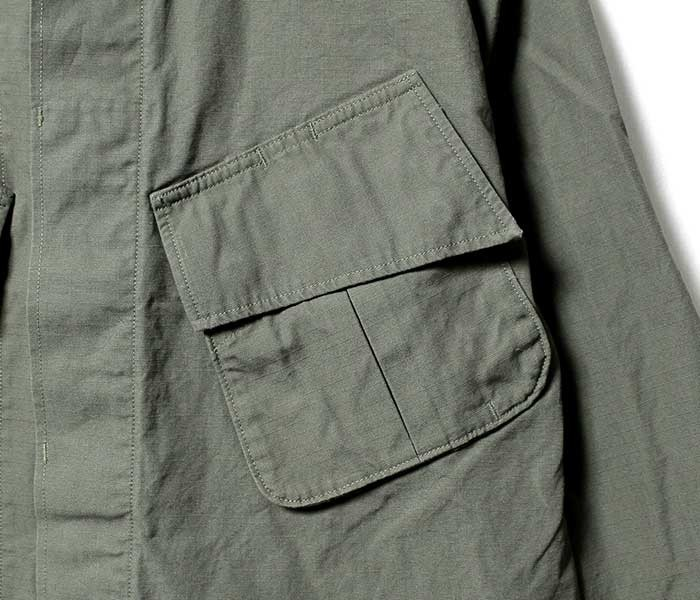[送料無料]オアスロウ(オアスロー)/orSlow 日本製 U.S.ARMY ミリタリージャケット ジャングルファティーグジャケット(03-6010-76)