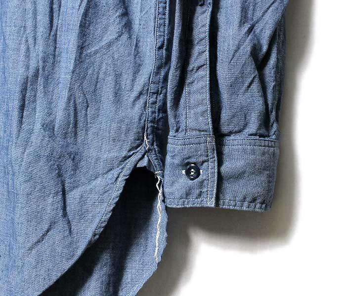 オアスロウ(オアスロー)/orSlow 日本製 ''ヴィンテージフィット'' シャンブレー ワークシャツ(03-V8070-84)