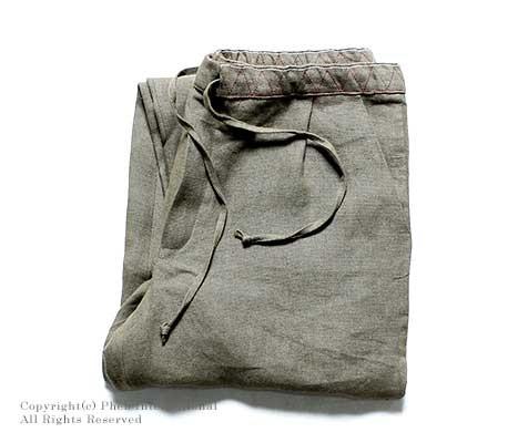 [送料無料]フランクリーダー/FRANK LEDER ドイツ製 ''VINTAGE LINEN''リネンイージーパンツ(0713042)