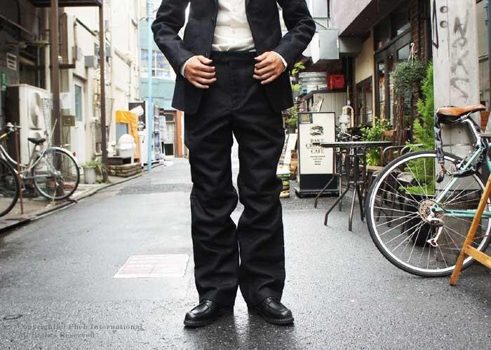 [送料無料]フランクリーダー/FRANK LEDER ''ジャーマンレザー''ヘビーコットンパンツ・スラックス【0723086】