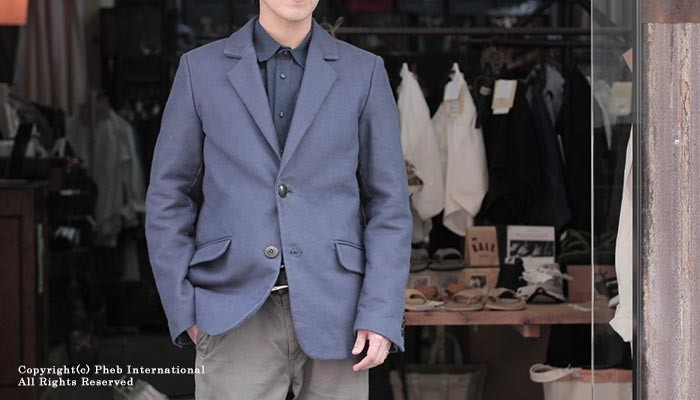 フランクリーダー/FRANK LEDER ドイツ製 ''ブルー ジャーマンレザー'' ジャケット (0822044)