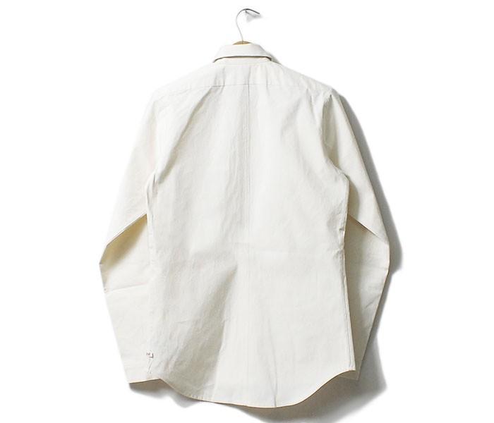 [送料無料]フランクリーダー/FRANK LEDER ドイツ製 ''ヴィンテージベッドリネン'' プレーンスタイルコットンシャツ(VINTAGE-BEDLINEN-SHIRTS-0916030/0226123)