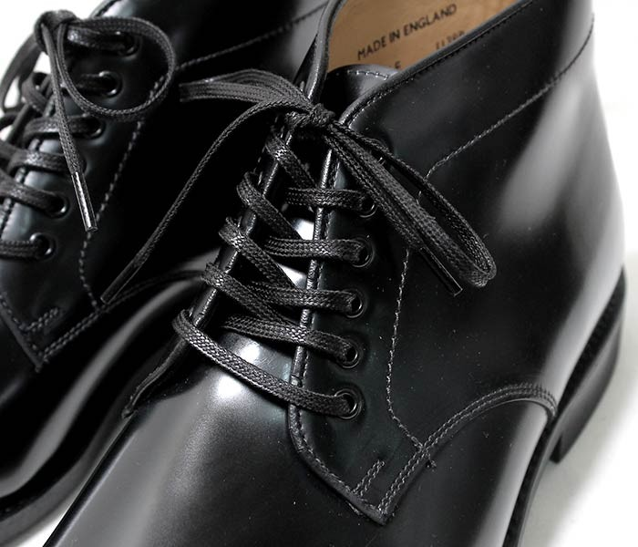 [送料無料]サンダース/SANDERS 英国製 ''ブラック'' ミリタリー チャッカブーツ (1139-BLACK)