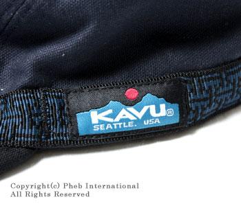 カブー/KAVU アメリカ製ストラップキャップ【11863001(CAP)】 [あす楽対応]