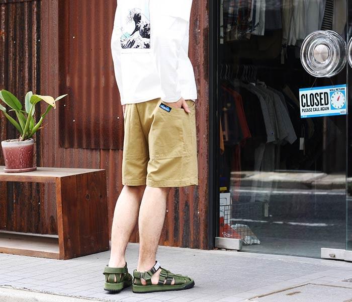 [送料無料]カブー/KAVU アメリカ製 コットンキャンバス チリワックショーツ CHILLIWACK SHORT (11863004-CHILLIWACK-SHORTS)