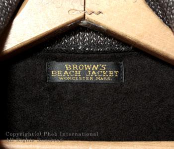 ブラウンズビーチ/BROWN'S BEACH ブラウンズビーチジップスポーツジャケット【BB-924】 [送料無料][あす楽対応]