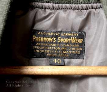 フェローズ/PHERROW'S(PHERROWS) シンサレートミリタリーベスト【13W-PFV】