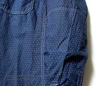 [送料無料]フェローズ/PHERROW'S(PHERROWS) ''インディゴウォバッシュ''ワークシャツ【720WS-W】