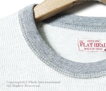 フラットヘッド/THE FLAT HEAD 60'sモデルサーマルロンT(THLA-00W)