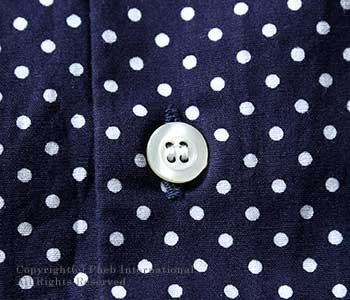 [送料無料]ワーカーズ/WORKERS 日本製 ''ピンホール''ラウンドカラーシャツ(1603-ROUND-SHIRTS)