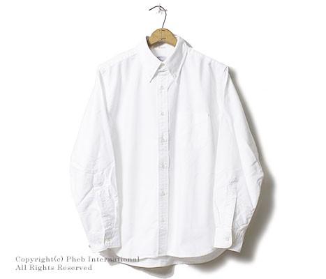 [送料無料]ワーカーズ/WORKERS 日本製 ''Relaxed BD'' リラックスフィット オックスフォード ボタンダウンシャツ(1607-RELAXED-BD-OX)