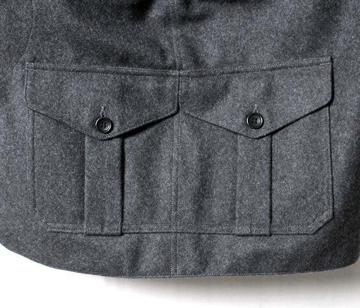 [送料無料]ワーカーズ/WORKERS 日本製 ''Cruiser Vest'' メルトン クルーザーベスト ハンティングベスト(1608-CRUISER-VEST-MELTON)