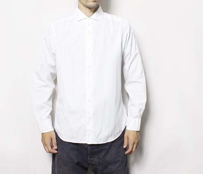 [送料無料]ワーカーズ/WORKERS 日本製 ''Wide Spread Shirt'' ブロードクロス ワイドスプレッドシャツ(1608-WIDESPREAD-SH-BROAD)