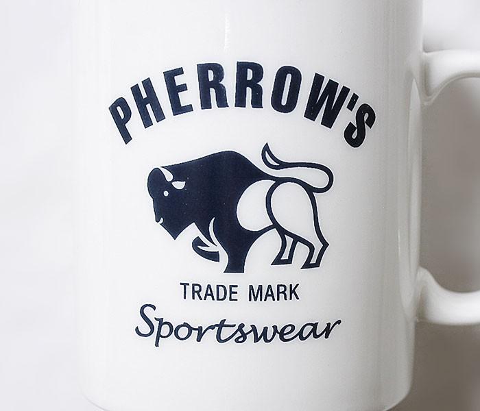 フェローズ/PHERROW'S(PHERROWS) 日本製 フェローズロゴ マグカップ (PHERROWS-MUG)