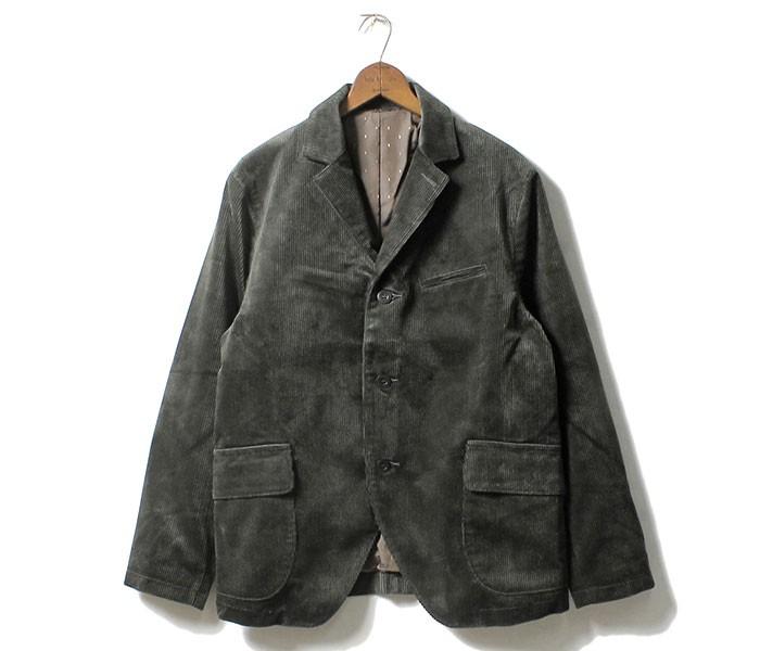 [送料無料]フェローズ/PHERROW'S(PHERROWS) 日本製 太畝コーデュロイ サックコート ジャケット (17W-PWSC1)