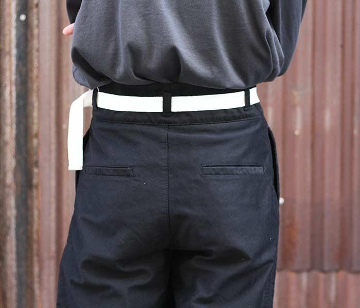 [送料無料]アニティア/ANITYA 日本製 ''ブラック'' モールスキン グルカパンツ GURKHA PANTS (18AW-AT53-BLACK)