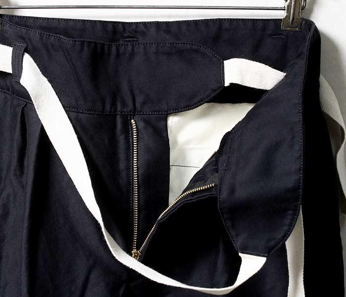 [送料無料]アニティア/ANITYA 日本製 ''ネイビー'' モールスキン グルカパンツ GURKHA PANTS (18AW-AT53-NAVY)