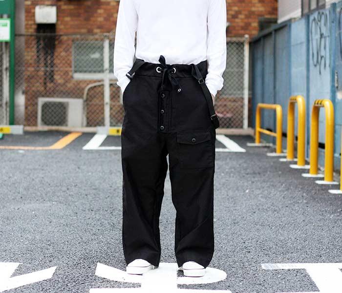 [送料無料]アニティア/ANITYA 日本製 サスペンダー モールスキンパンツ SUSPENDER OVER PANTS (18AW-AT55)
