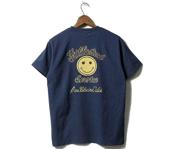 フェローズ/PHERROW'S(PHERROWS) HILLESTAD SMILE Tシャツ プリントT (18MS-PT15)