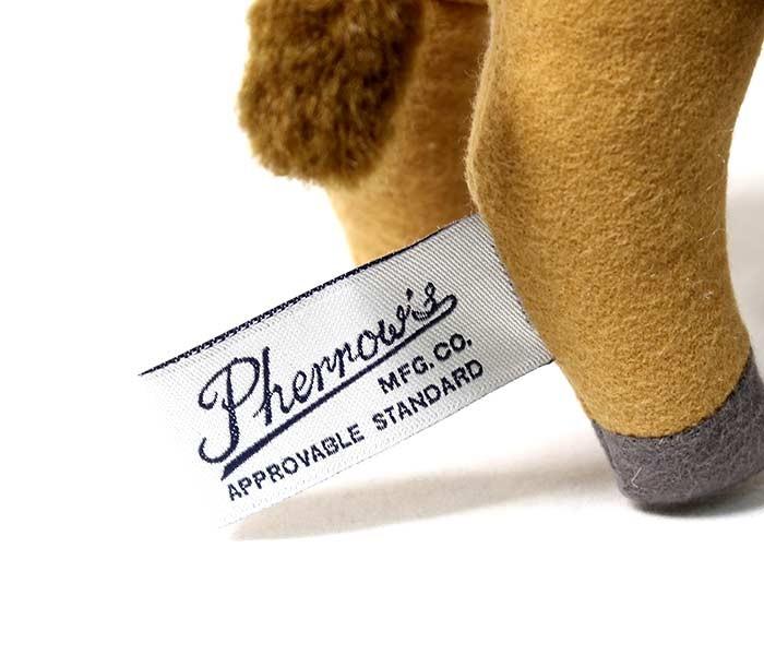 フェローズ/PHERROW'S(PHERROWS) 日本製 フェローズバッファロー ぬいぐるみ カレッジドール 人形 (18W-PHERROWS-BUFF-DOLL)