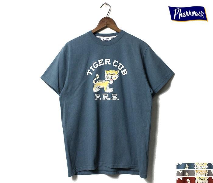フェローズ PHERROW'S TIGER CLUB Tシャツ プリントT (19S-PT5)
