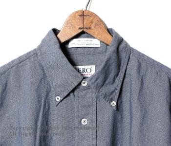 セロ/SERO カナダ製ライトオンスデニムボタンダウンシャツ【SERO-1-73180】