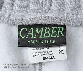 キャンバー/CAMBER ''クロスニット''アメリカ製12ozスウェットパンツ【Cross-Knit SWEAT PANT】
