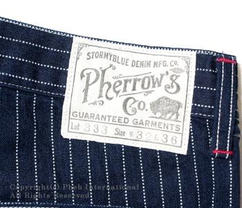 フェローズ/PHERROW'S(PHERROWS)  '30年代モデルワーク パンツ【333WP】 [送料無料]