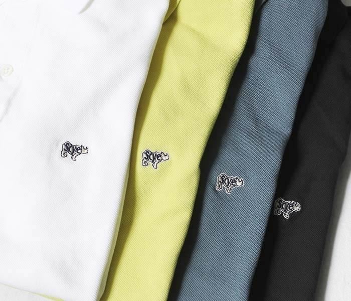[送料無料]サイベーシックス/SCYE BASICS 日本製 ''2018年春夏モデル'' 40/1鹿の子 ヘンリーネックシャツ Tシャツ (5118-21591)