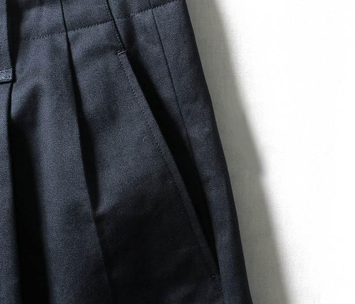 [送料無料]サイベーシックス/SCYE BASICS 日本製 2タック チノショーツ ショートパンツ サンホアキン綿 ムラ糸チノ (5118-81503)