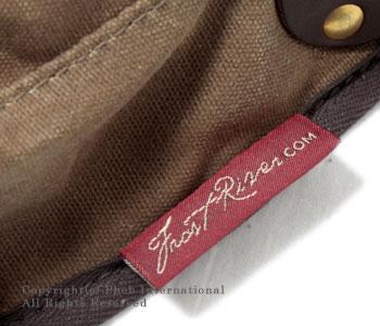 フロストリバー/FROST RIVER アメリカ製ワックスドコットンスモールシェルバッグ(ショルダーバッグ) 【FR-560】[送料無料]