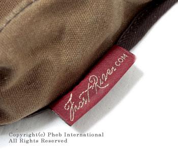 フロストリバー/FROST RIVER アメリカ製ワックスドコットンミディアムシェルバッグ(ショルダーバッグ) 【FR-561】