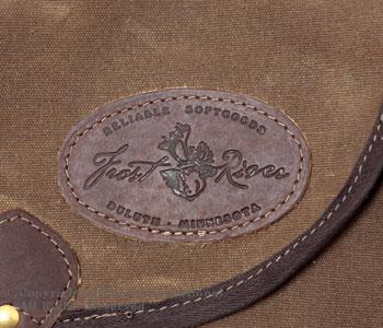 フロストリバー/FROST RIVER アメリカ製ワックスドコットンエクストララージシェルシバッグ(ショルダーバッグ) 【FR-564】[送料無料]