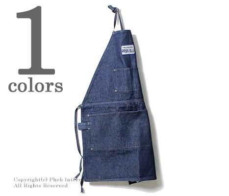 プリズンブルース/PRISON BLUES アメリカ製 デニム エプロン DENIM WORK APRON (700060626-APRON)