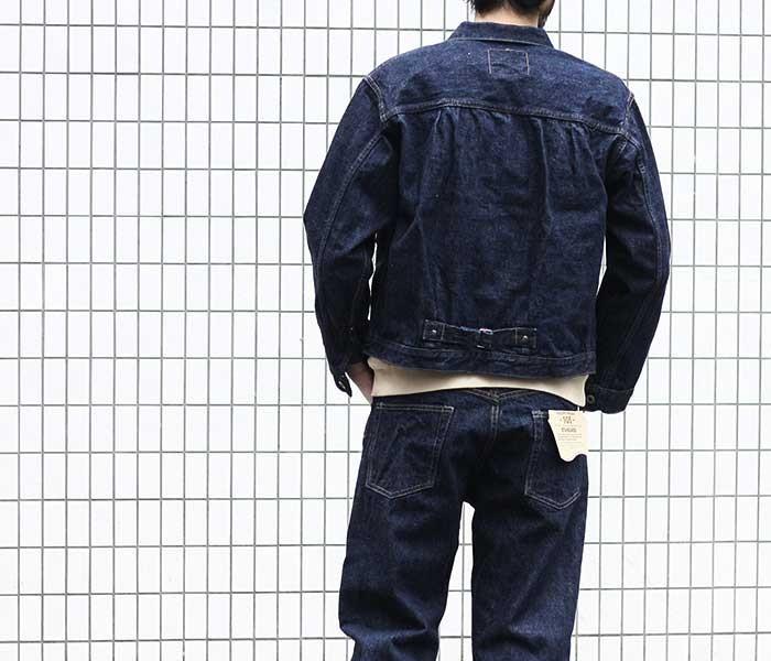 orSlow オアスロウ × アンドフェブ 別注 日本製 1st 大戦モデル デニムジャケット