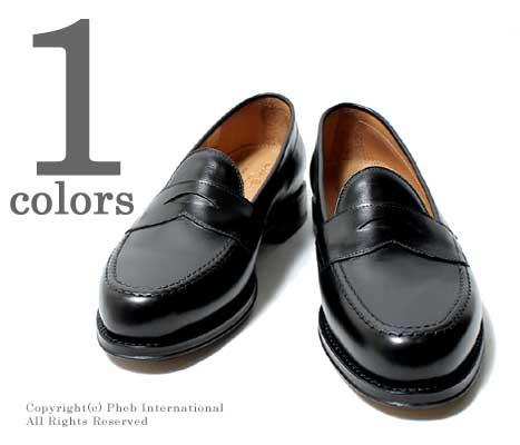 ジャラン スリワヤ/JALAN SRIWIJAYA×フェブ/PHEBオリジナルオーダー ''BLACK CALF''ローファー【98324-3142-BLACK】