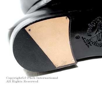 [送料無料]ジャランスリワヤ/JALAN SRIWIJAYA×フェブ/PHEBオリジナルオーダー BLACK CALF 3142ラスト レザーソール ローファー (98324-3142-BLACK)
