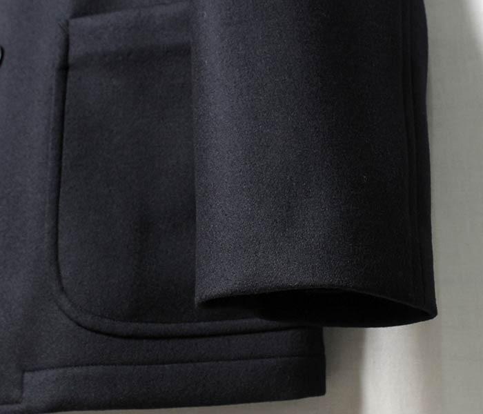 [送料無料]オーラリー/AURALEE 日本製 ライトメルトン ダブルブレストジャケット LIGHT MELTON DOUBLE-BREASTED JACKET (A7AJ02LM-WJKT)
